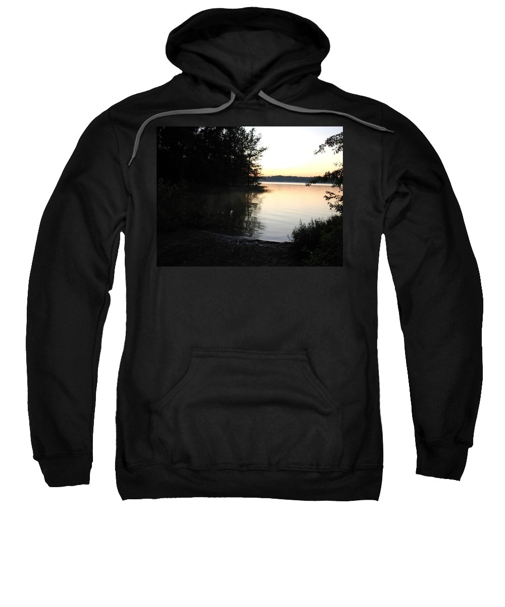 Lake Sweatshirt featuring the photograph 1205c by Kimberlie Gerner