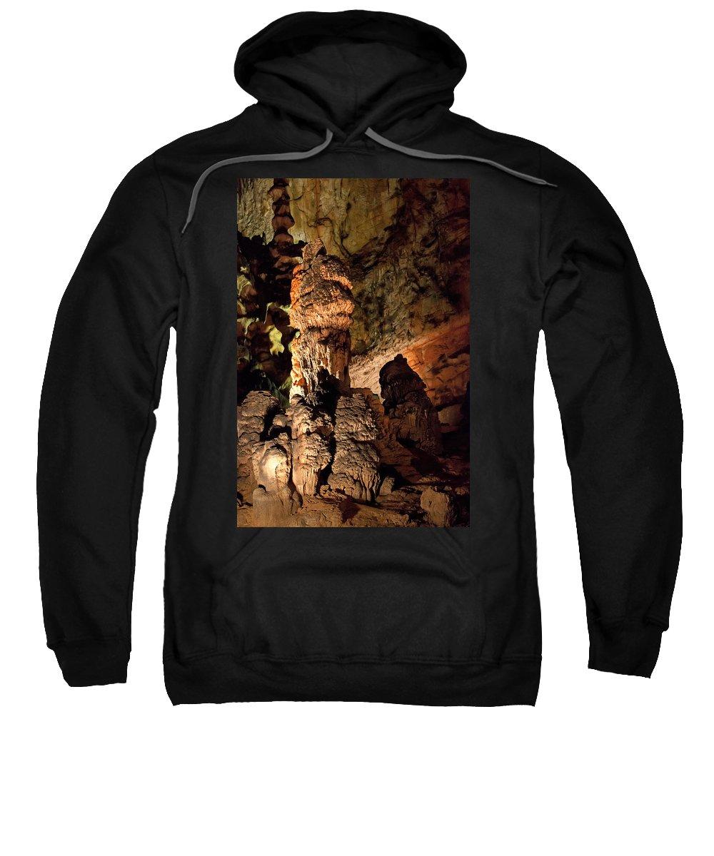 Cave Sweatshirt featuring the photograph Baradla by Daniel Csoka