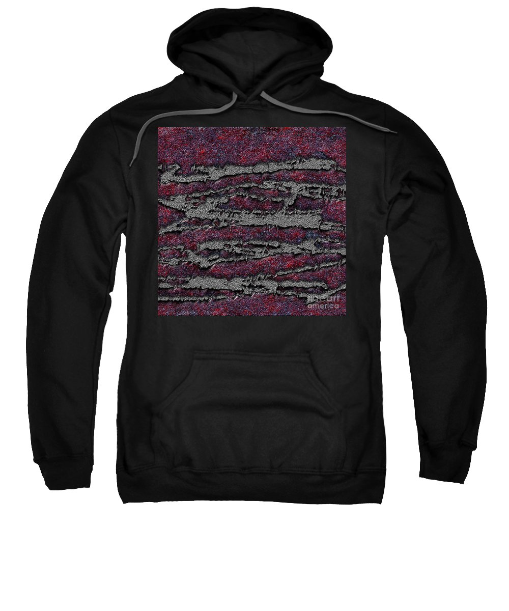 Abstract Sweatshirt featuring the digital art 1548 Abstract Thought by Chowdary V Arikatla