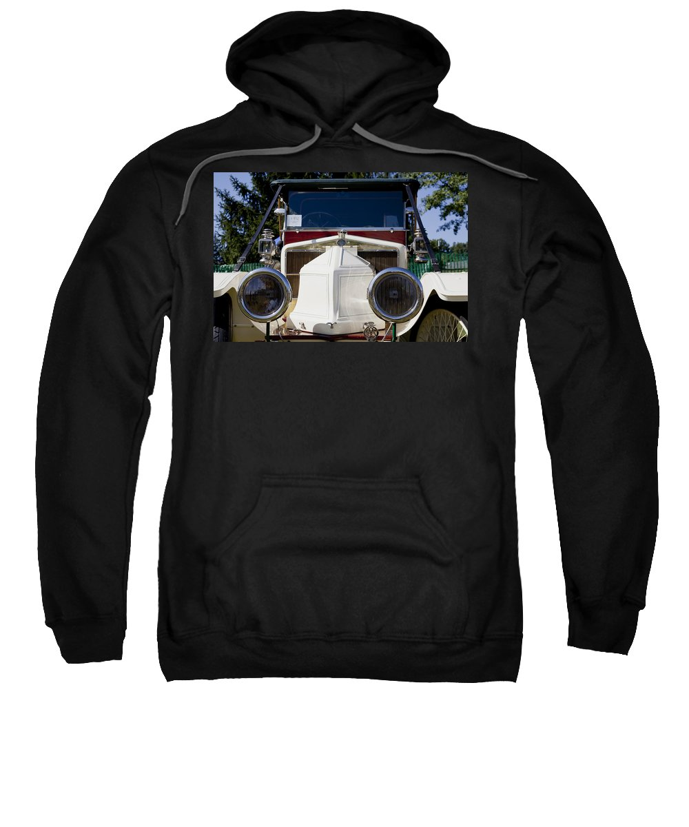 1912 Sweatshirt featuring the photograph 1912 Siddeley-deasy Type 14-20 by Jack R Perry