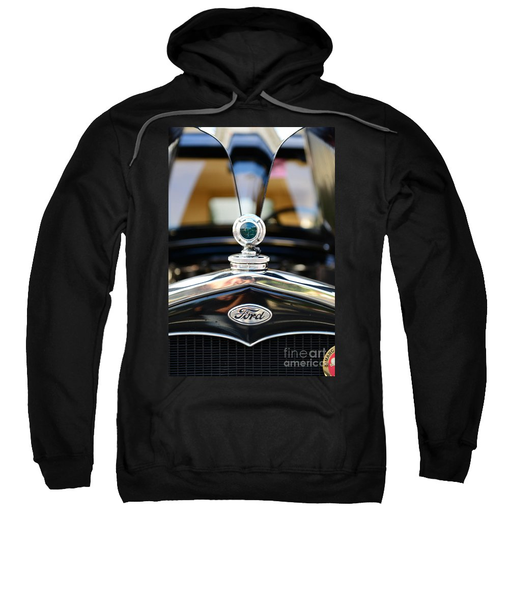 1931 Ford Model A Sweatshirt featuring the photograph 1931 Ford Model A by Paul Ward