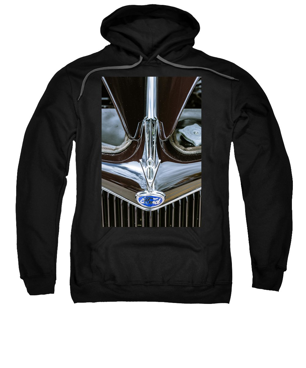 Automobile Sweatshirt featuring the photograph 1935 Ford Roadster by Lauri Novak