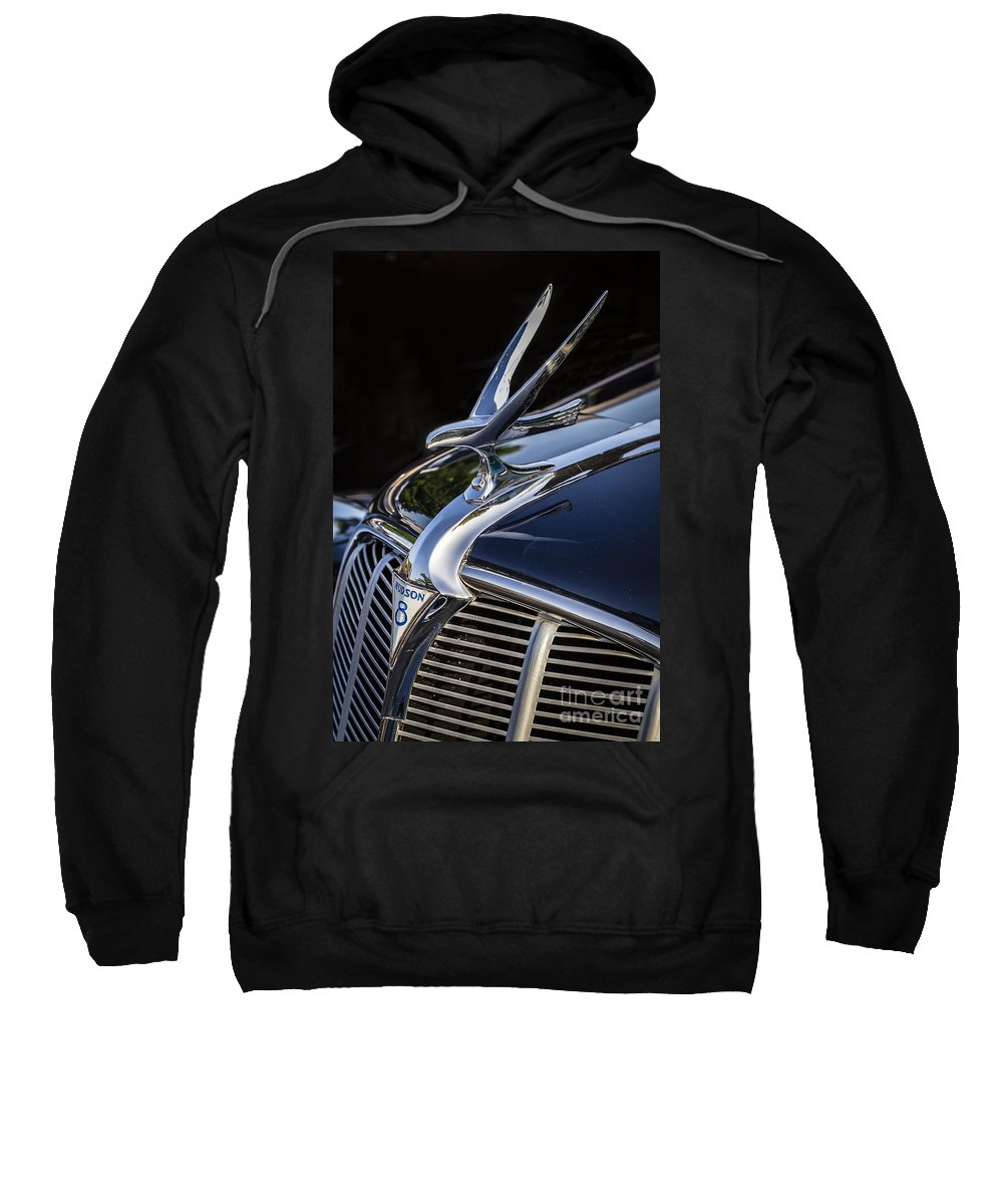 1935 Hudson Sweatshirt featuring the photograph 1935 Hudson by Dennis Hedberg