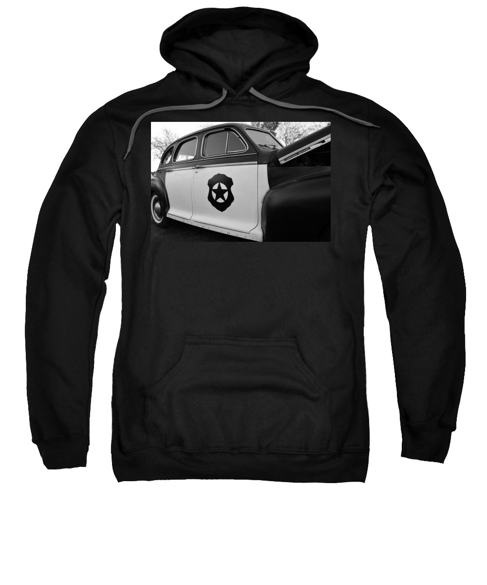 Cop Car Sweatshirt featuring the photograph 1941 Chevy Special Deluxe by David Lee Thompson