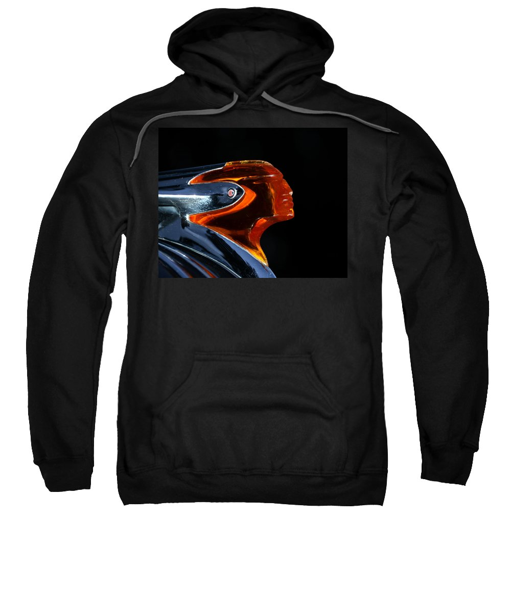Classic Car Sweatshirt featuring the photograph 1950 Pontiac by David Lee Thompson