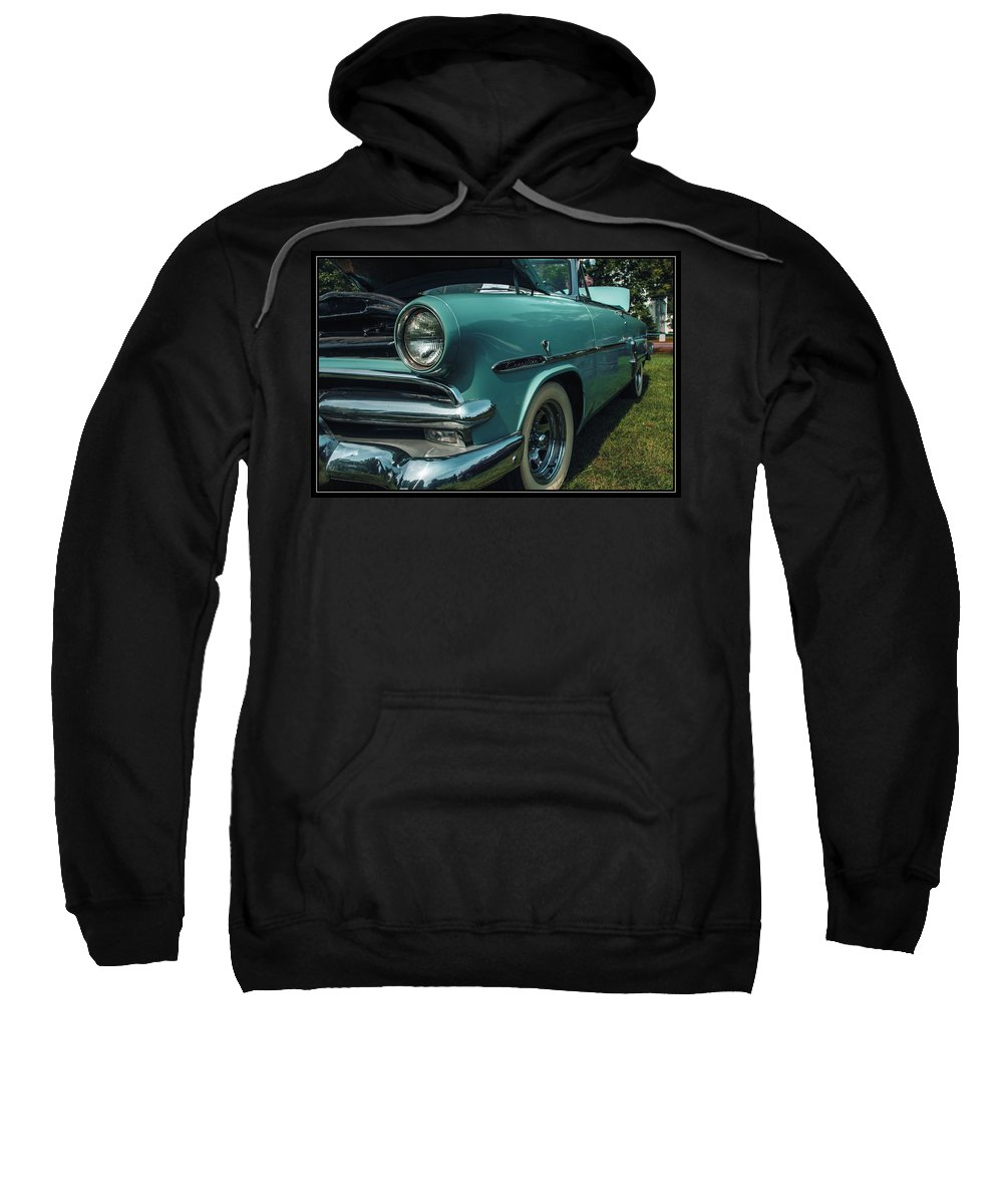 Ford Sweatshirt featuring the photograph 1953 Ford Crestline by Sherman Perry