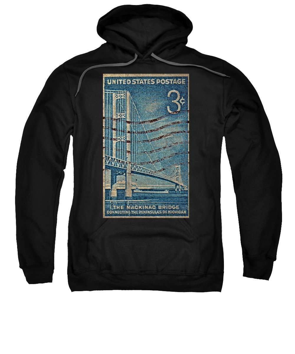 1958 The Mighty Mac Stamp Sweatshirt featuring the photograph 1958 The Mighty Mac Stamp by Bill Owen