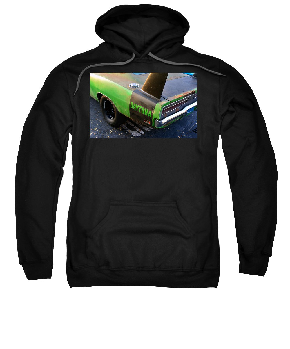 1970 Dodge Daytona Charger Sweatshirt featuring the photograph 1970 Dodge Daytona Charger by David Lee Thompson