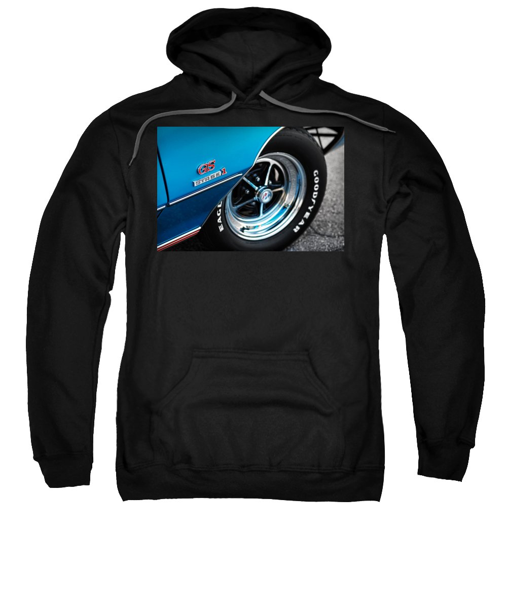 1971 Sweatshirt featuring the photograph 1971 Buick Gs Stage 1 by Gordon Dean II