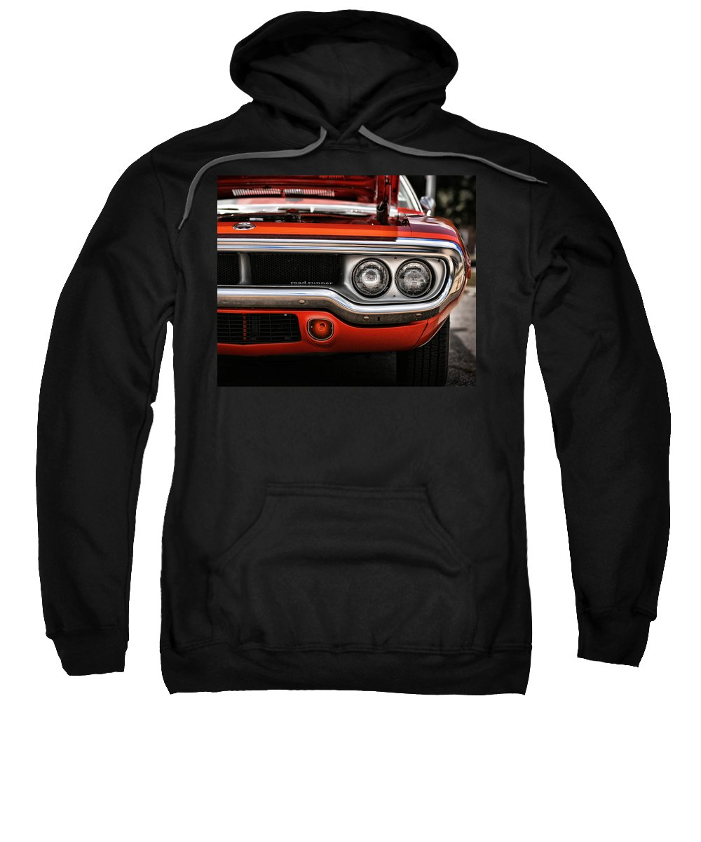 Plymouth Sweatshirt featuring the photograph 1972 Plymouth Road Runner by Gordon Dean II
