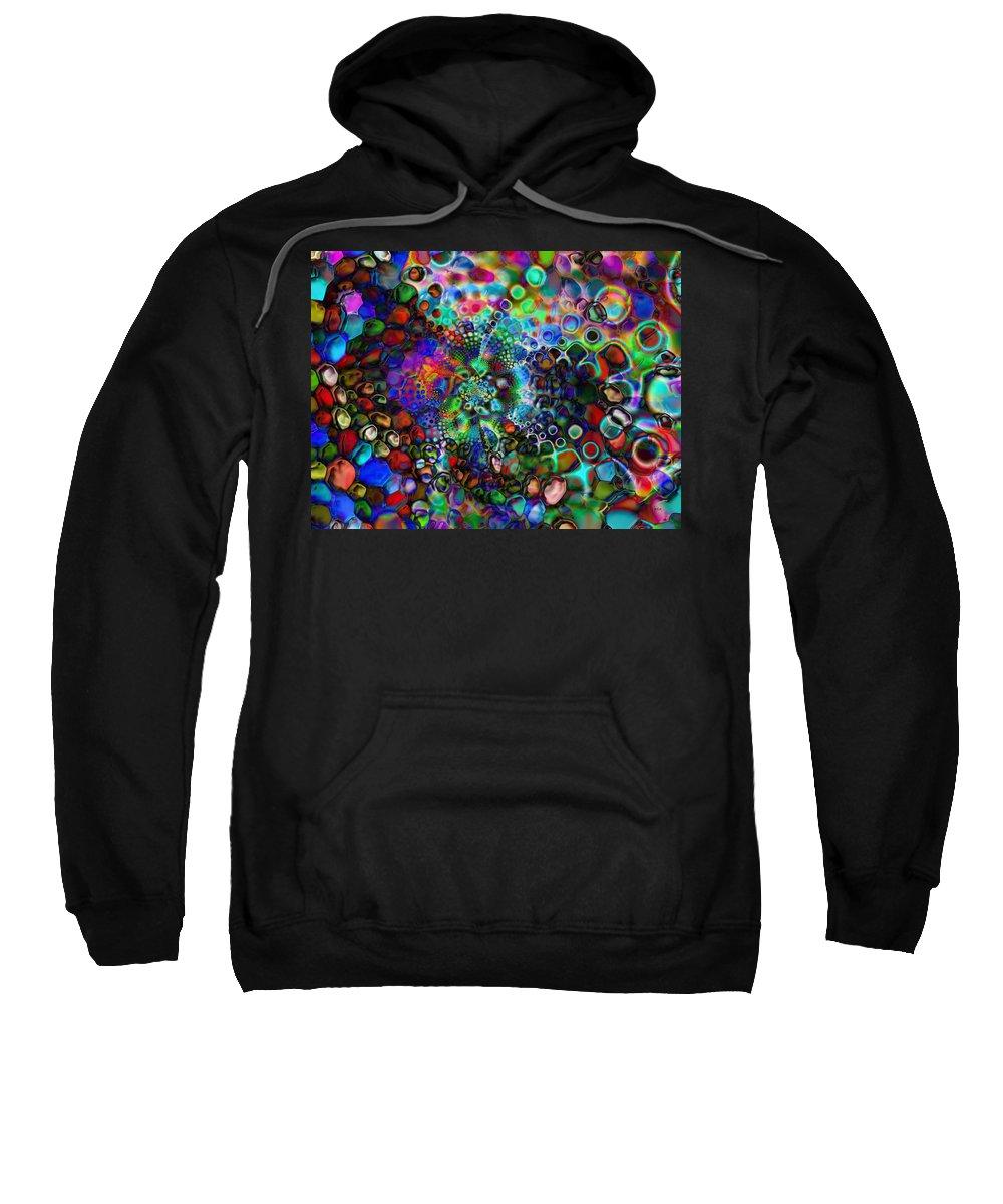 Sweatshirt featuring the digital art 1997051 by Studio Pixelskizm