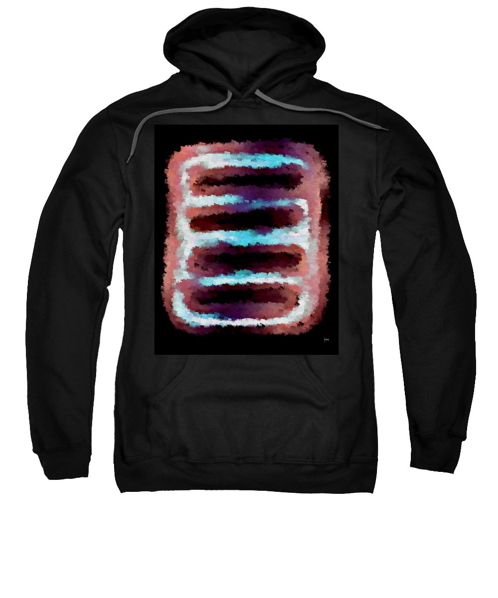 Sweatshirt featuring the digital art 1999011 by Studio Pixelskizm