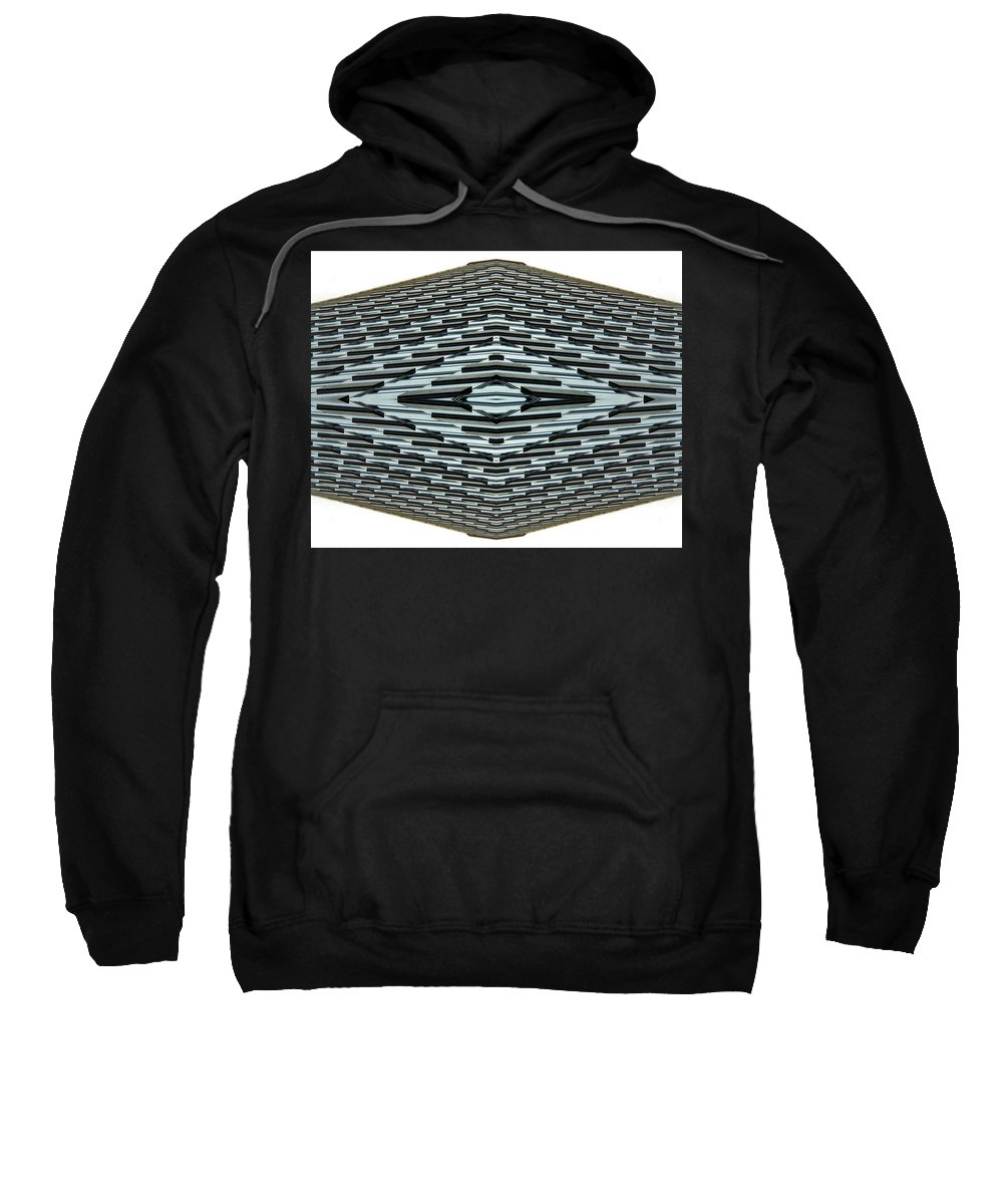 Original Sweatshirt featuring the photograph Abstract Buildings 2 by J D Owen
