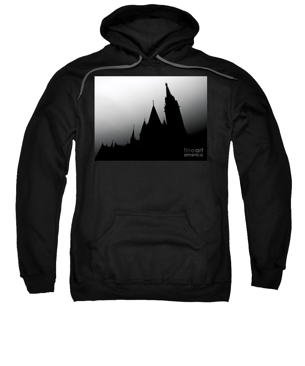 Matthias Church Sweatshirt featuring the photograph Budapest Hungary by Howard Stapleton