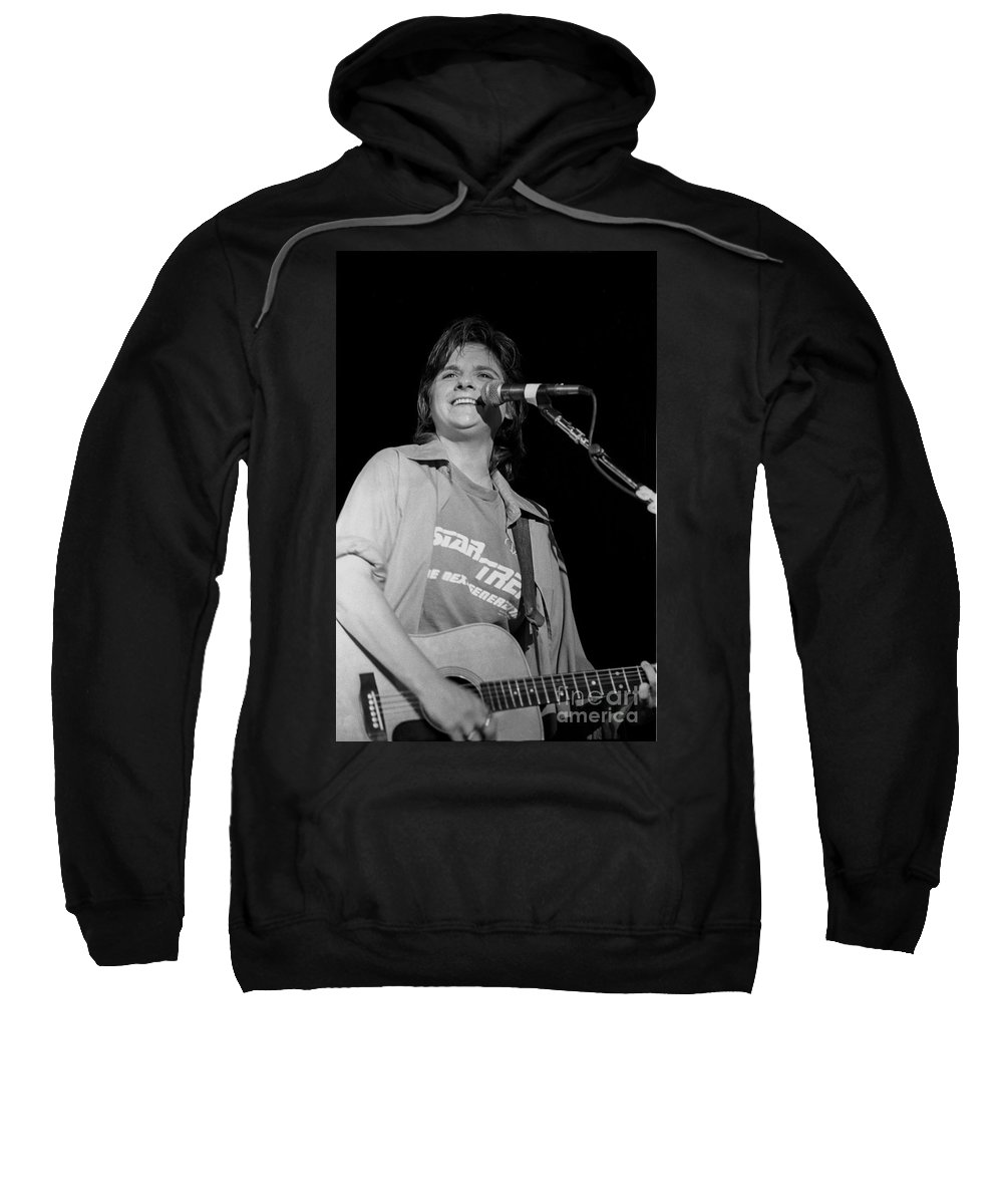 Pictures Sweatshirt featuring the photograph Indigo Girls by Concert Photos