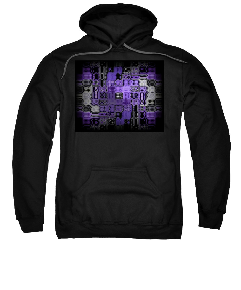 Original Sweatshirt featuring the painting Motility Series 22 by J D Owen