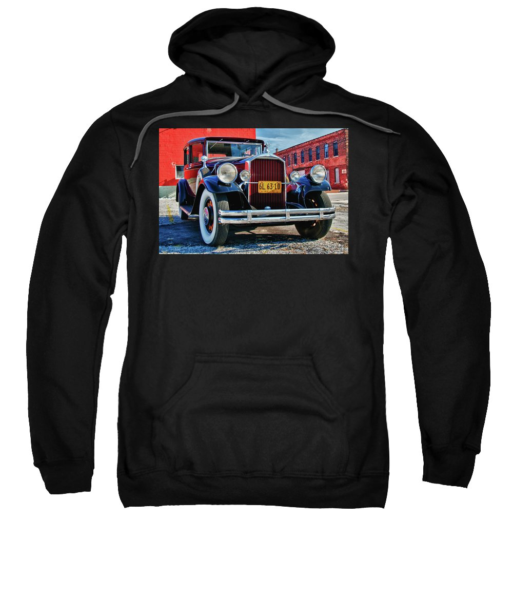 Antique Car Sweatshirt featuring the photograph Pierce Arrow 3468 by Guy Whiteley