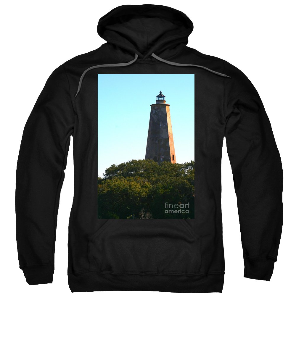 Lighthouse Sweatshirt featuring the photograph The Lighthouse by Nadine Rippelmeyer