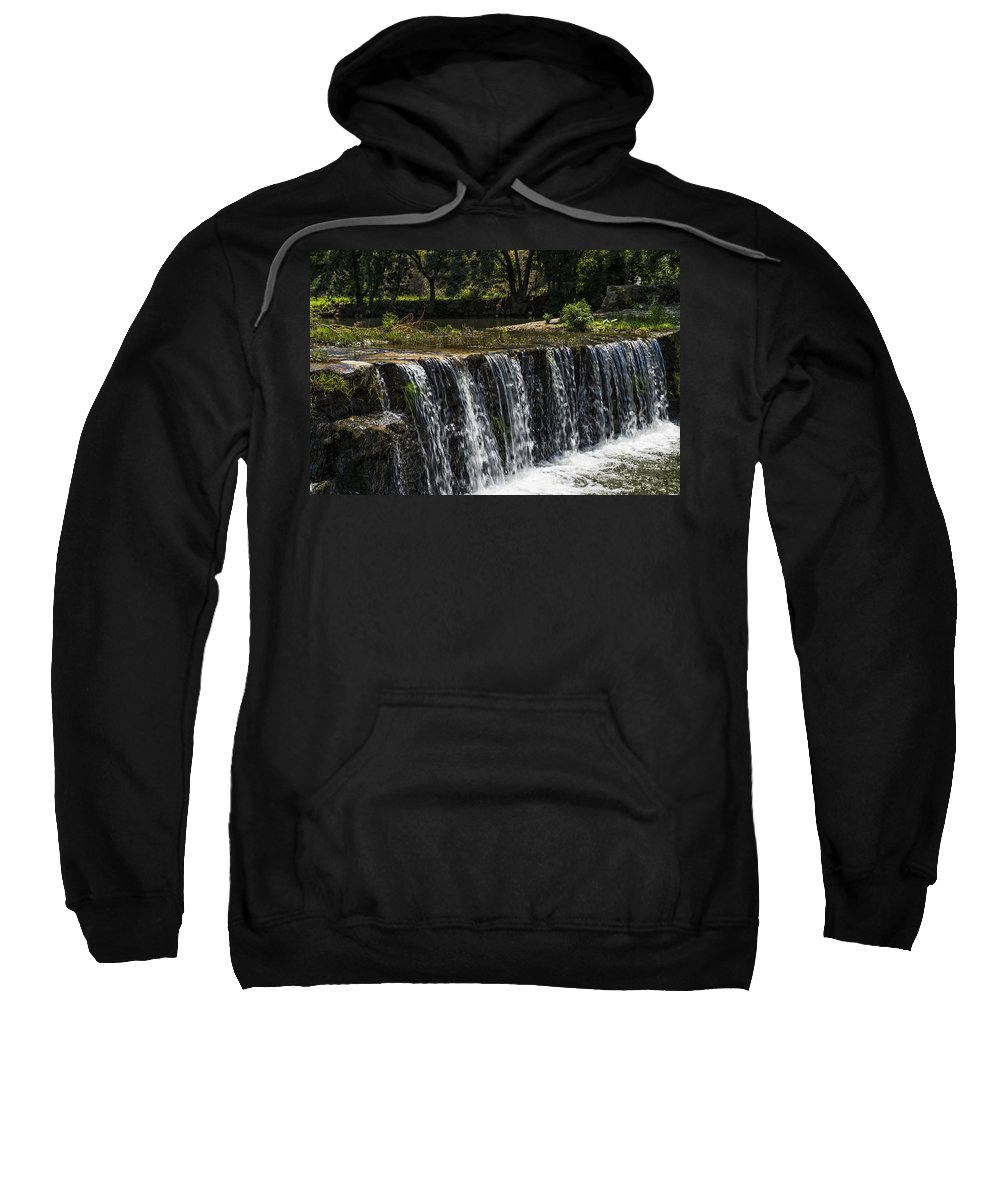 Waterfall Sweatshirt featuring the photograph Waterfall by Paulo Goncalves