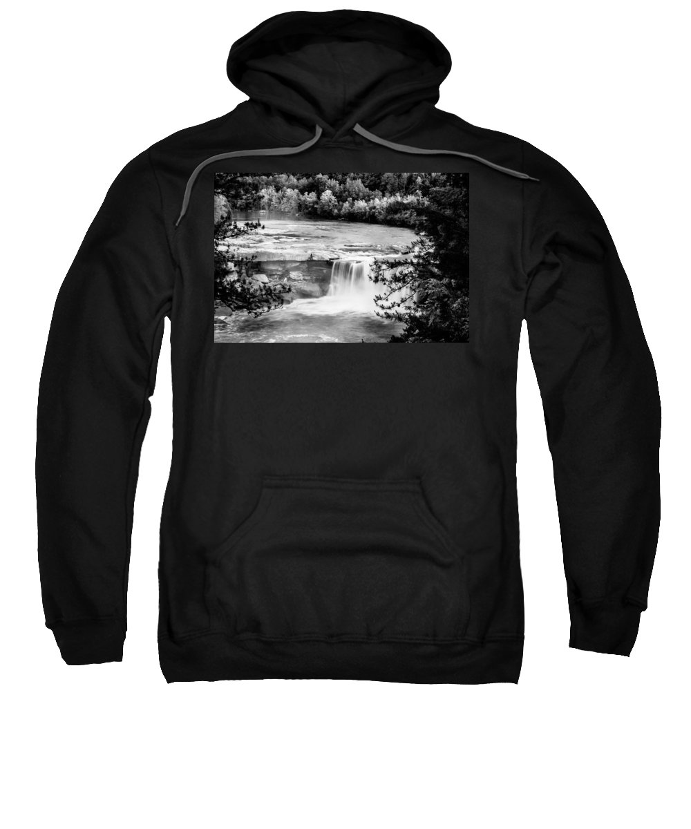America Sweatshirt featuring the photograph Cumberland Falls by Alexey Stiop