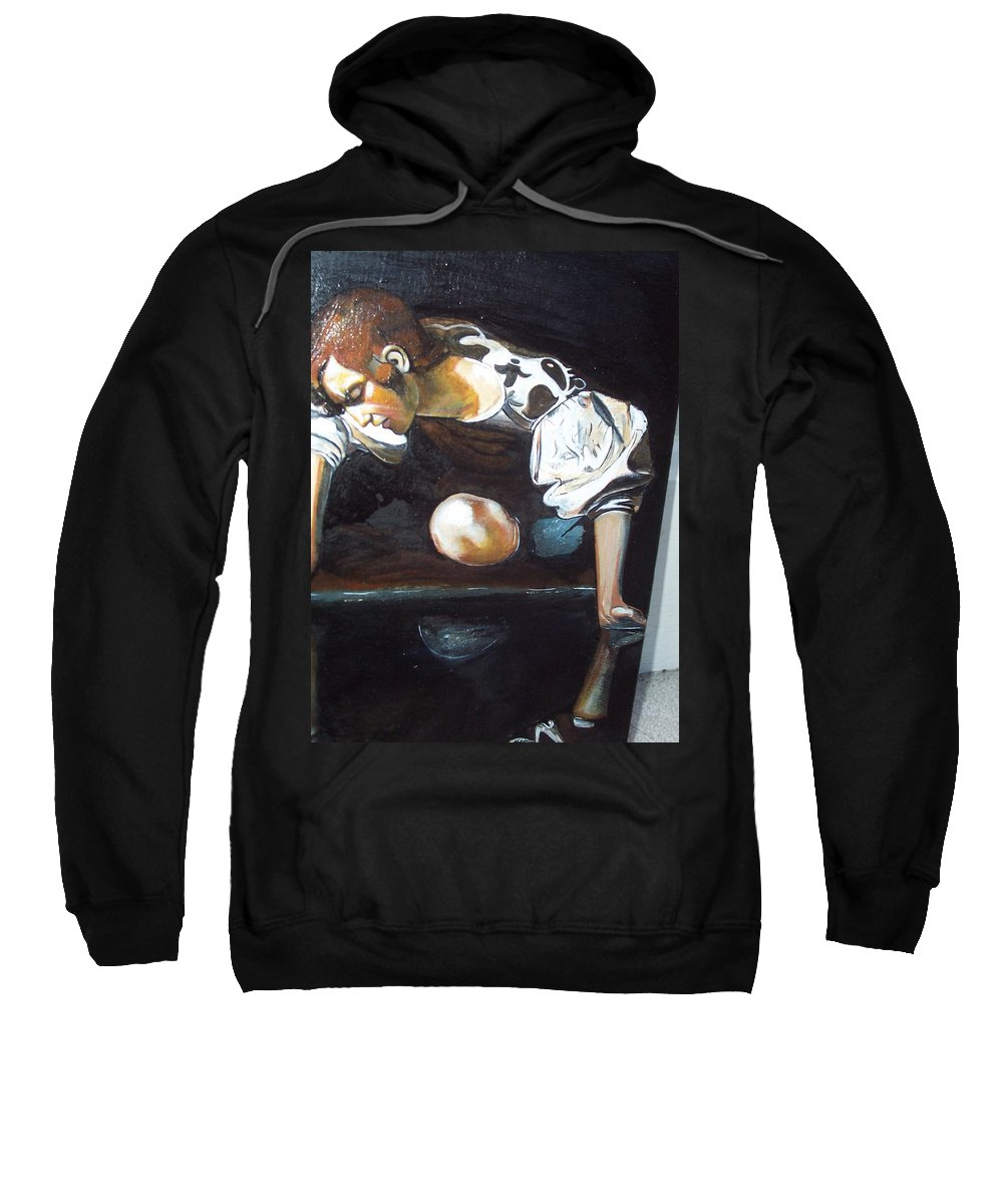 Sweatshirt featuring the painting Detail by Jude Darrien