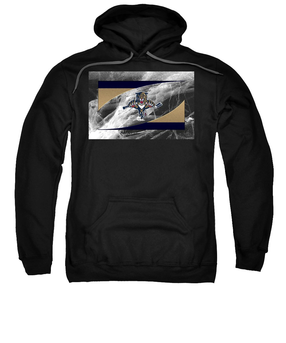 Panthers Sweatshirt featuring the photograph Florida Panthers by Joe Hamilton