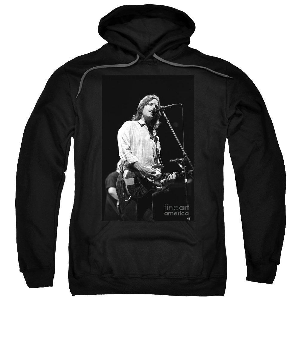 Singer Sweatshirt featuring the photograph Grateful Dead by Concert Photos
