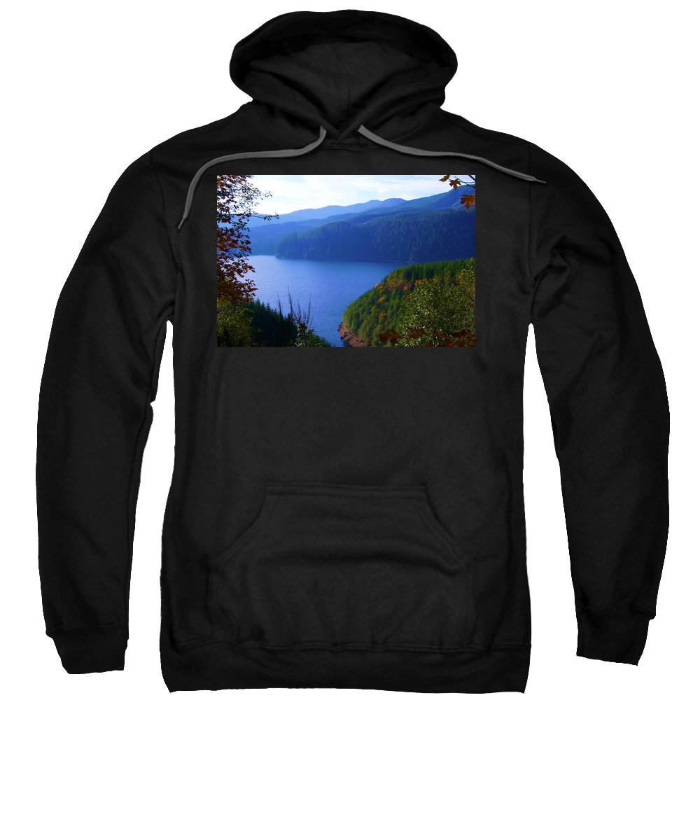 Bloom Sweatshirt featuring the photograph Lakes 6 by J D Owen