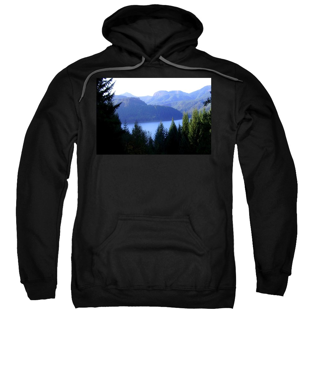Bloom Sweatshirt featuring the photograph Lakes 8 by J D Owen