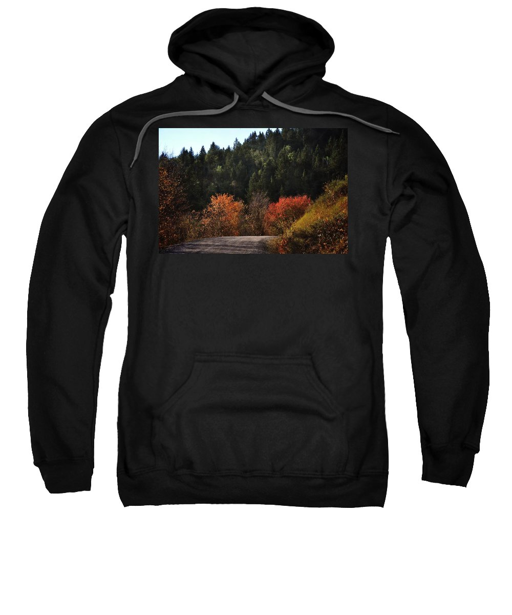 Palisades Sweatshirt featuring the photograph Palisades by Image Takers Photography LLC
