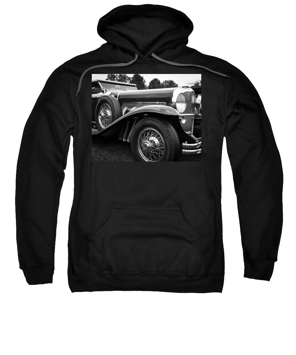 Antique Sweatshirt featuring the photograph 1932 Duesenburg by Jack R Perry