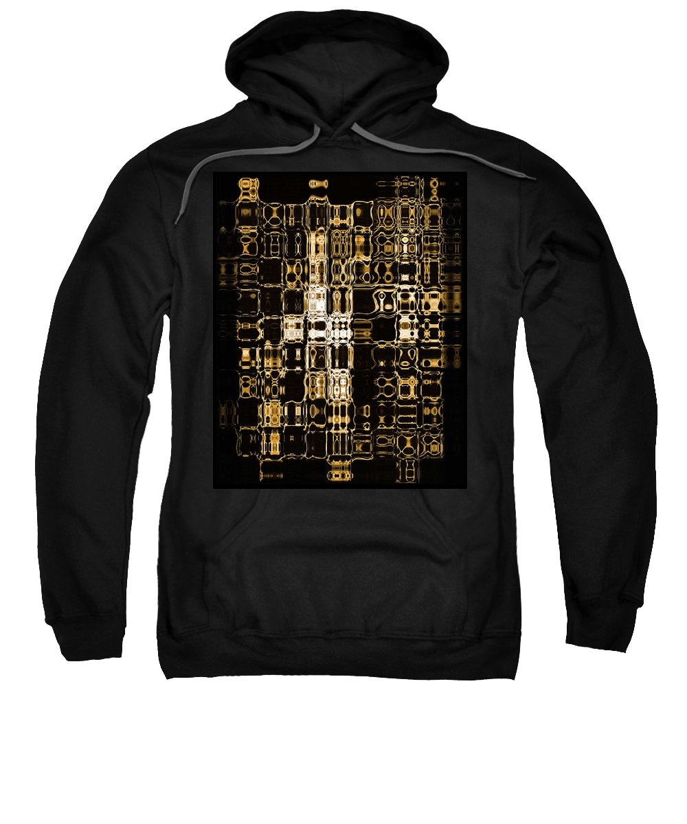 Abstract Sweatshirt featuring the digital art Abstract 96 by J D Owen