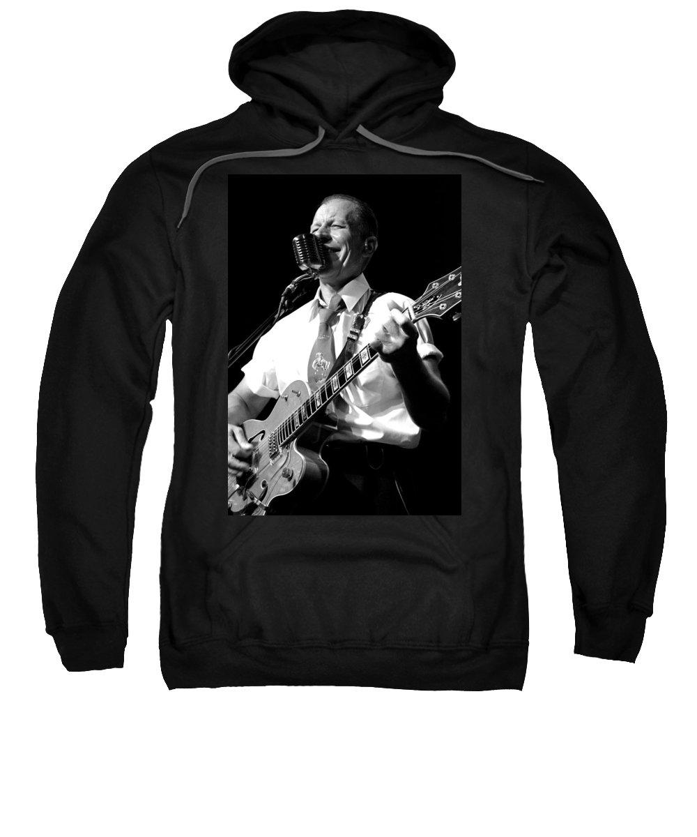The Reverend Horton Heat Sweatshirt featuring the photograph Untitled by Chiara Corsaro