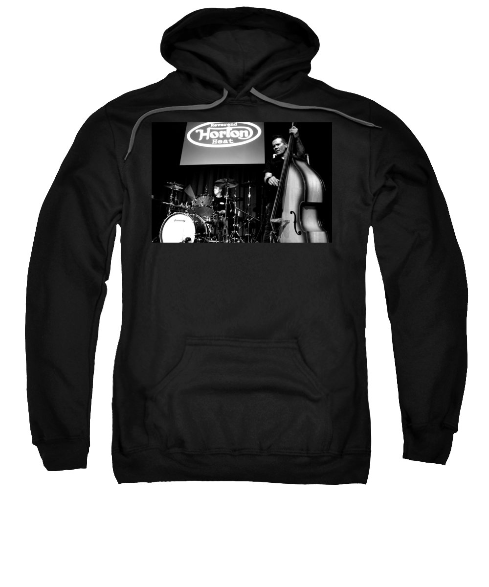 The Reverend Horton Heat Sweatshirt featuring the photograph Untitled by Chiara Corsaro