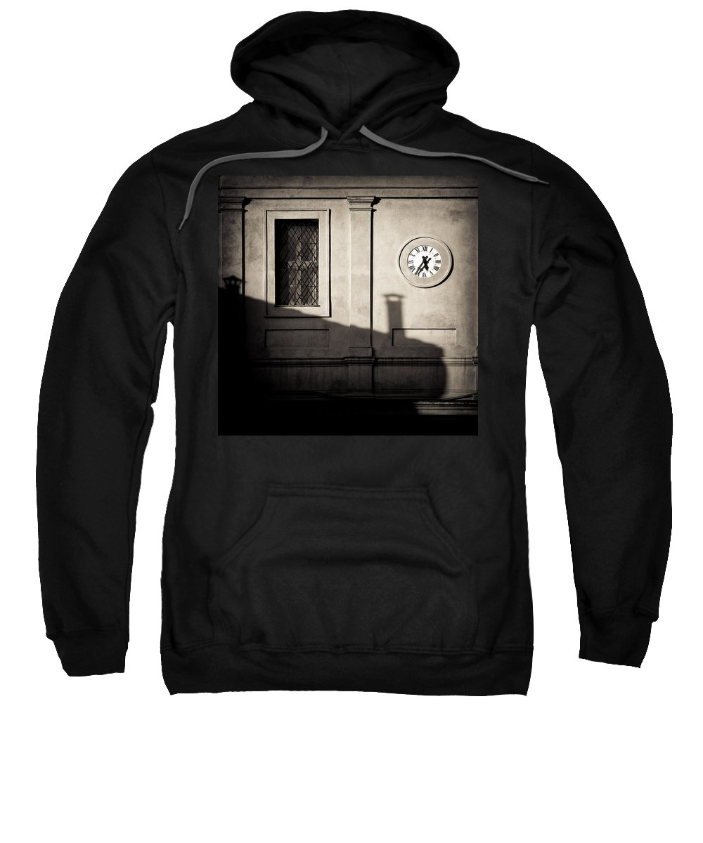 Siena Sweatshirt featuring the photograph 5.35pm by Dave Bowman