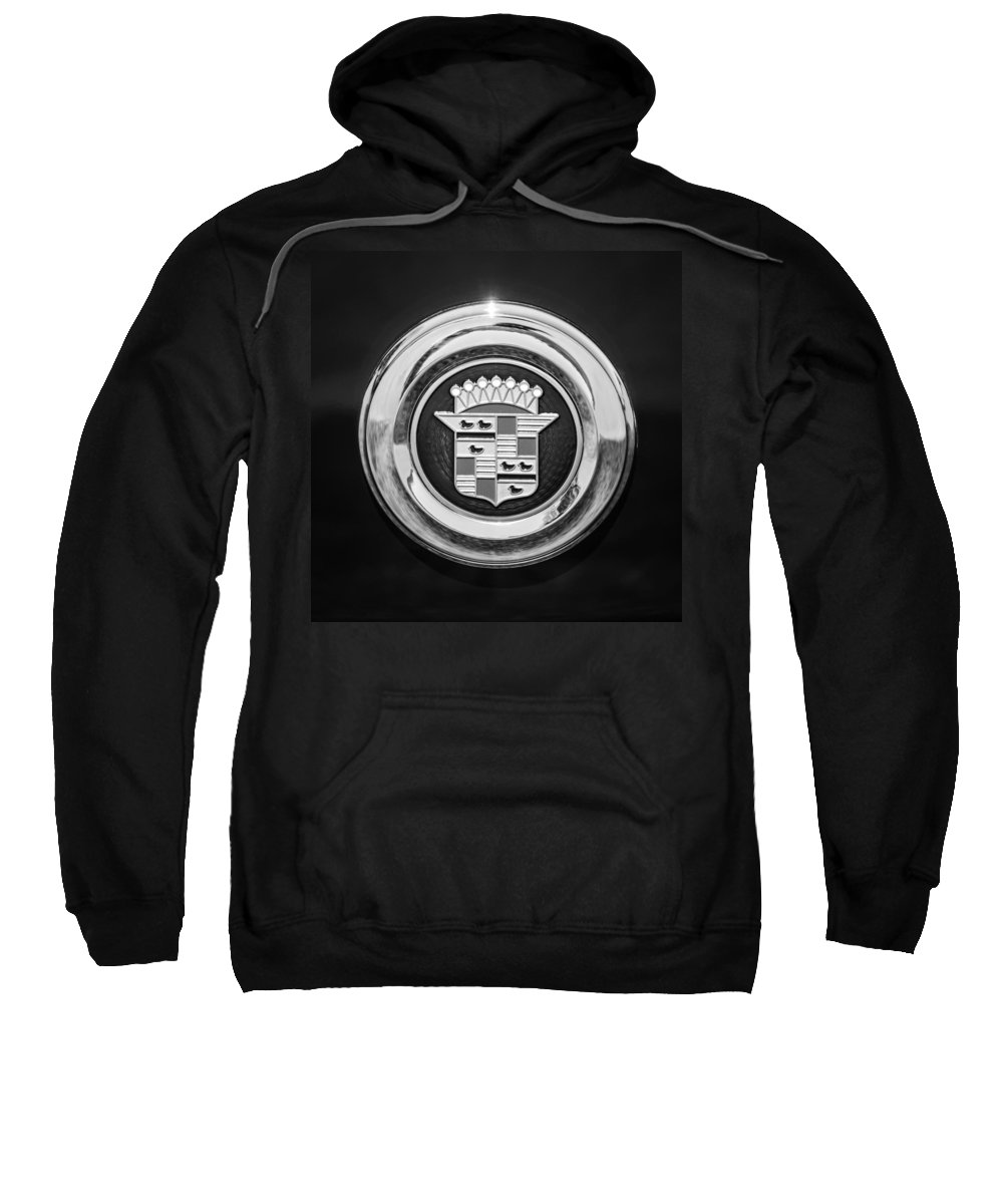 Cadillac Emblem Sweatshirt featuring the photograph Cadillac Emblem by Jill Reger