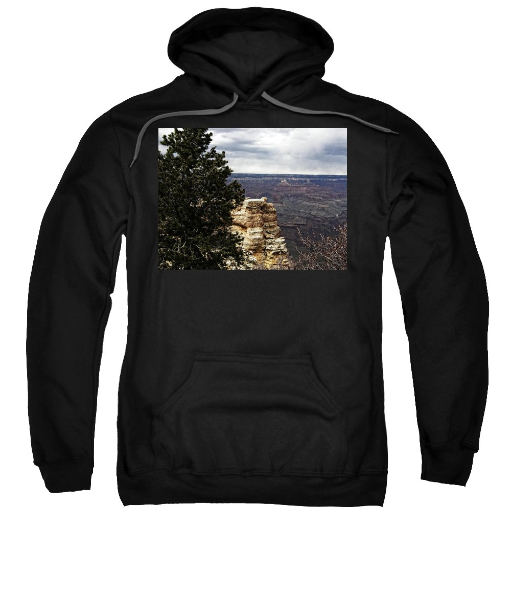 Sweatshirt featuring the photograph Grand Canyon by Image Takers Photography LLC