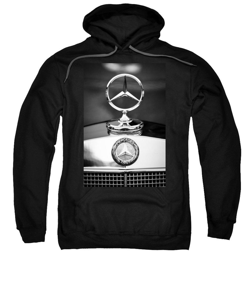Mercedes-benz Hood Ornament Sweatshirt featuring the photograph Mercedes-benz Hood Ornament by Jill Reger
