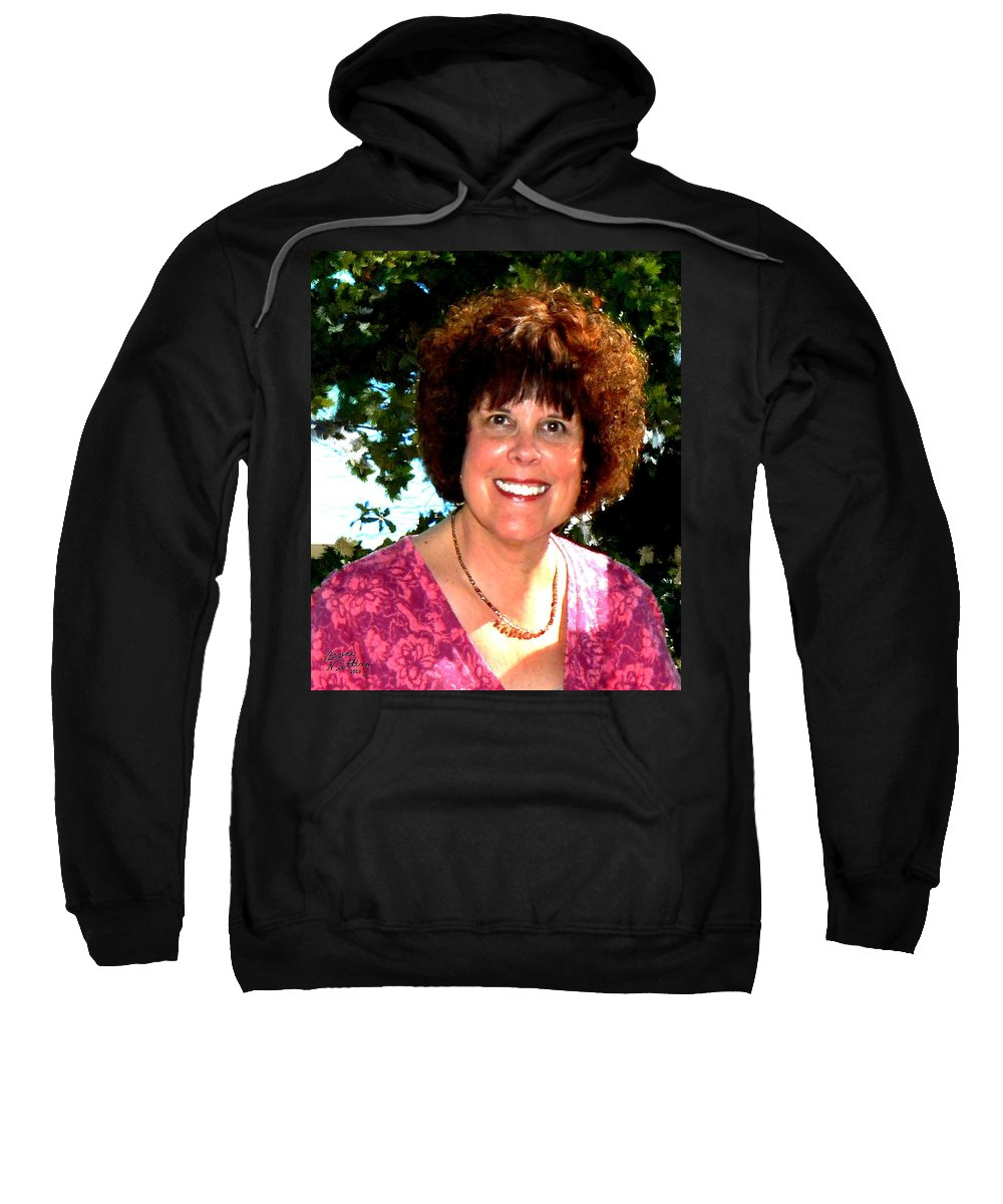 Friend Sweatshirt featuring the painting A Dear Friend by Bruce Nutting