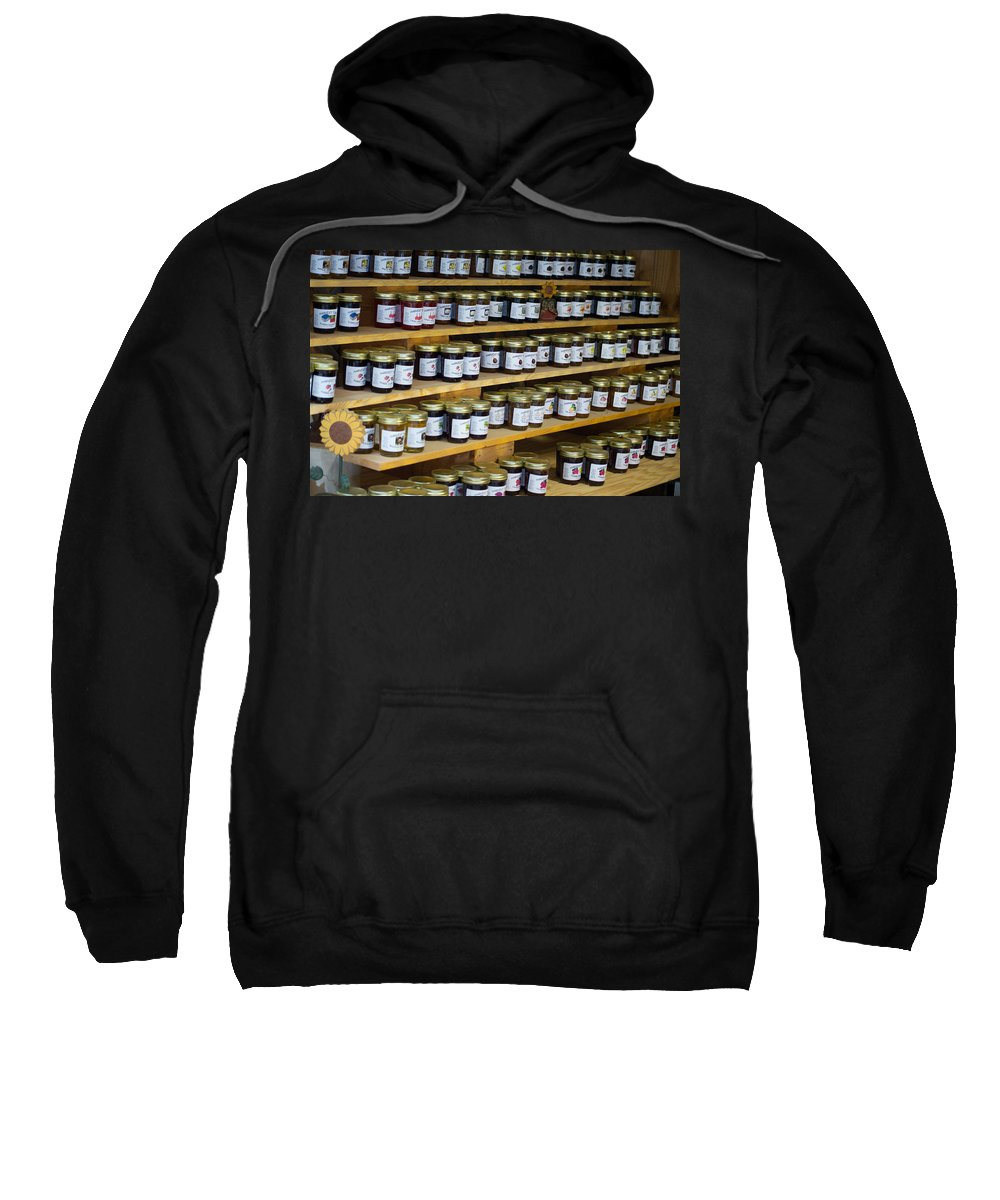 Texas Sweatshirt featuring the photograph A Jarring Discovery by JG Thompson