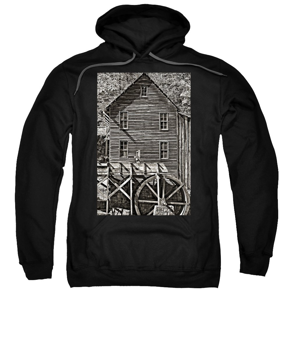 Shape Sweatshirt featuring the photograph A Study Of Line And Form 2 by Steve Harrington