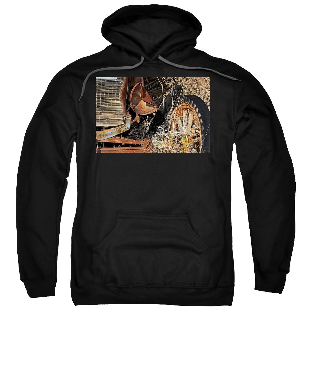 Car Sweatshirt featuring the photograph A Wink In Time by Phyllis Denton