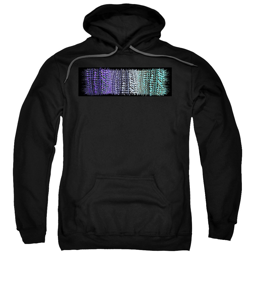 Abstract Fusion 219 Sweatshirt featuring the digital art Abstract Fusion 219 by Will Borden