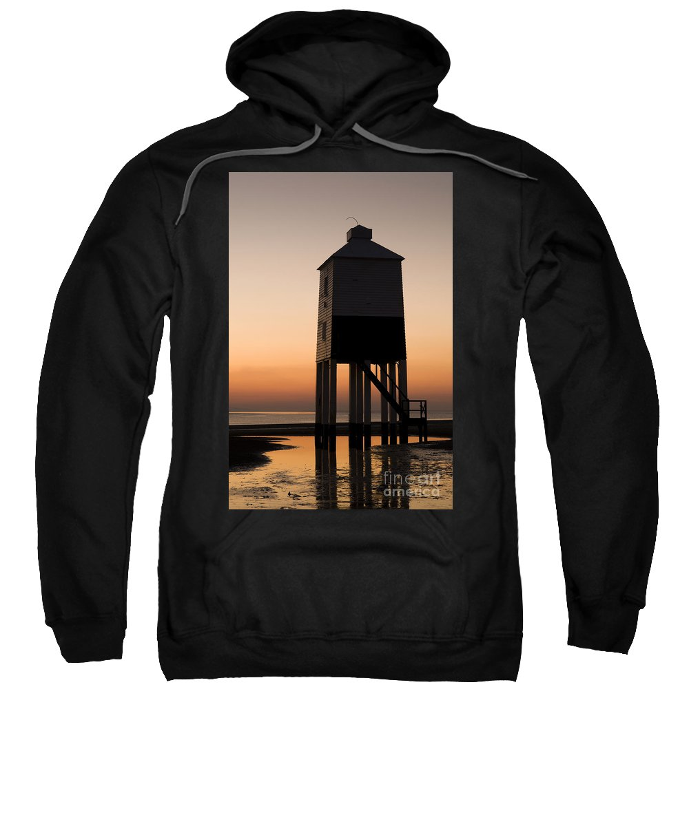 19th Sweatshirt featuring the photograph After The Sun Set by Anne Gilbert
