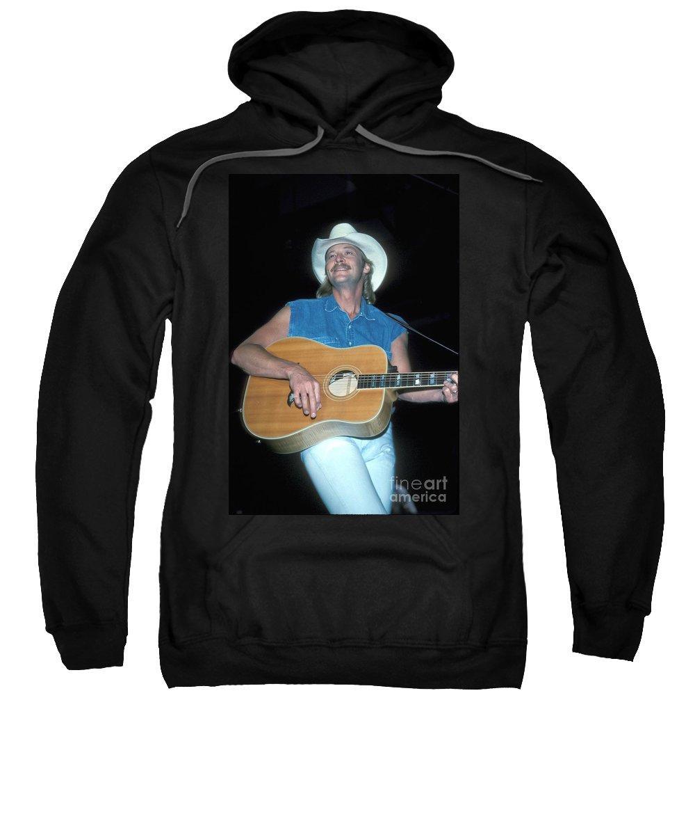 Singer Sweatshirt featuring the photograph Alan Jackson by Concert Photos