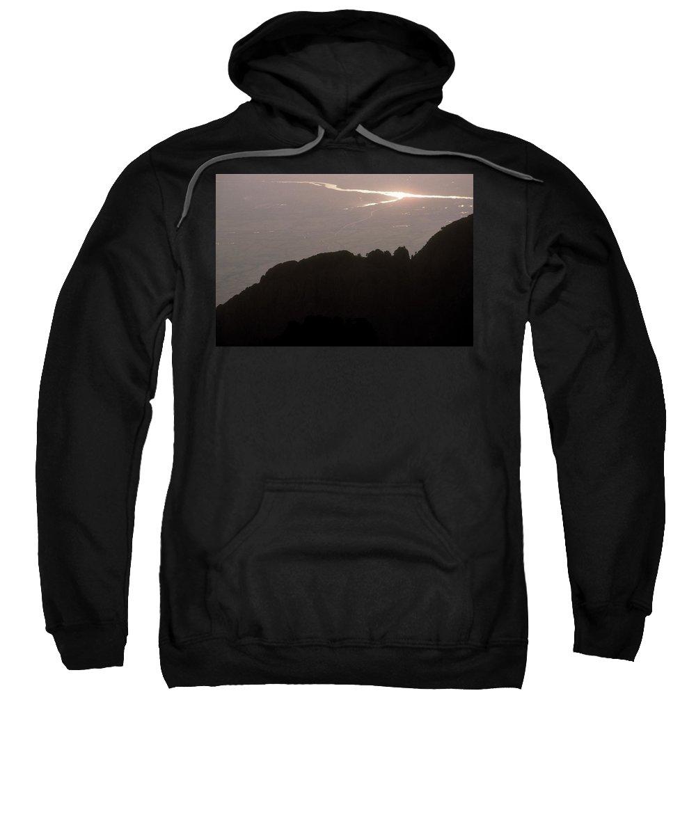 Aerial Tramway Sweatshirt featuring the photograph Albuquerque by Scott Warren