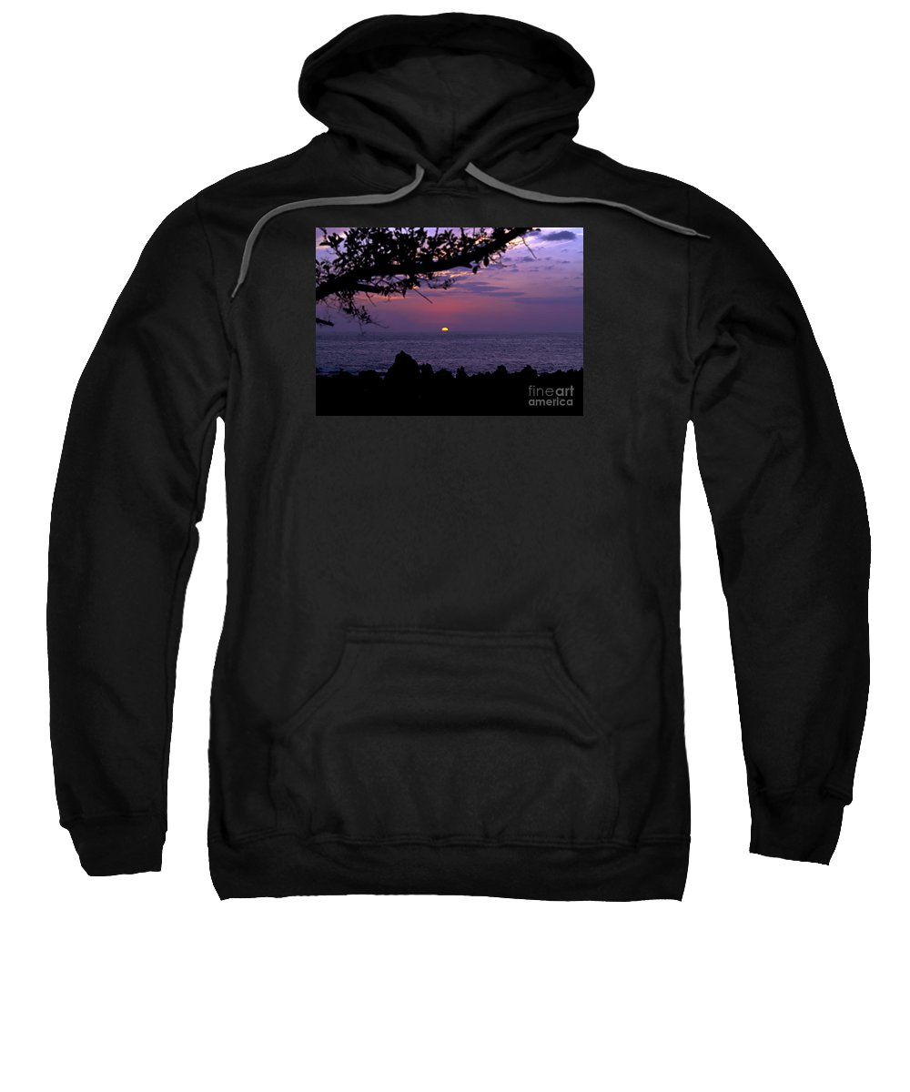 Sunset Photography Sweatshirt featuring the photograph Aloha V by Patricia Griffin Brett