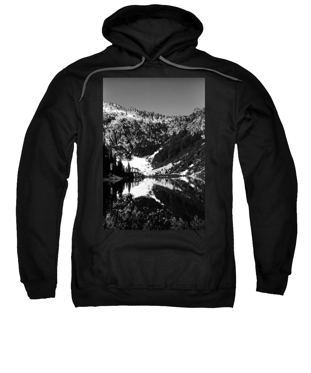 Alpine Lake Sweatshirt featuring the photograph Alpine Lake August 1975 #1 by Ben Upham III
