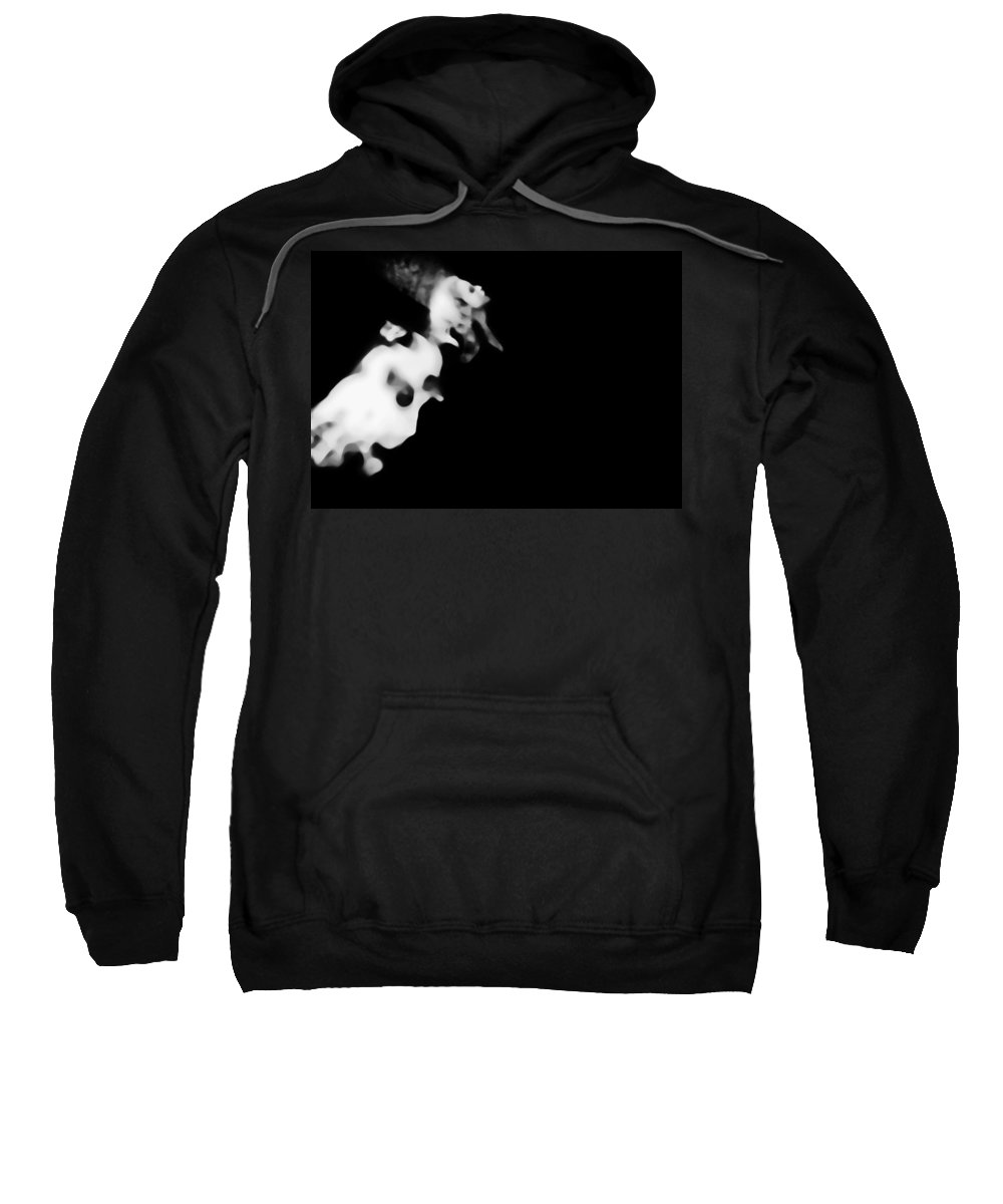 Black Sweatshirt featuring the photograph Anticipating by Jessica Shelton