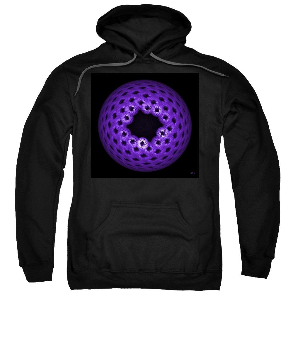 Apo Sweatshirt featuring the digital art Apoberry by Brian Kenney